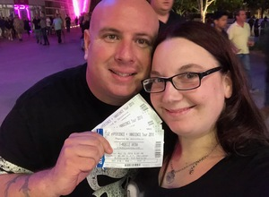 Zachary attended U2 Experience + Innocence Tour on May 12th 2018 via VetTix