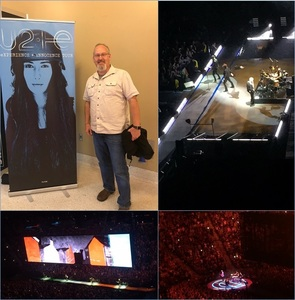 Gregory attended U2 Experience + Innocence Tour on May 12th 2018 via VetTix