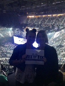 Donald attended U2 Experience + Innocence Tour on May 12th 2018 via VetTix