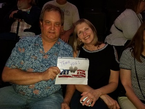 Gunnar attended Daryl Hall and John Oates With Train on May 16th 2018 via VetTix