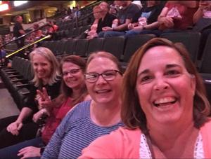 Tracy attended Daryl Hall and John Oates With Train on May 16th 2018 via VetTix