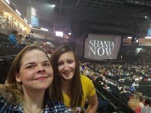 SSgt Ferguson attended Shania Twain Now Tour on May 16th 2018 via VetTix
