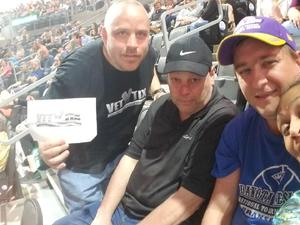 Troy attended Shania Twain Now Tour on May 16th 2018 via VetTix