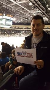 Jeff attended Texas Stars vs. Rockford Icehogs - Game Two - Western Conference Finals - AHL on May 20th 2018 via VetTix