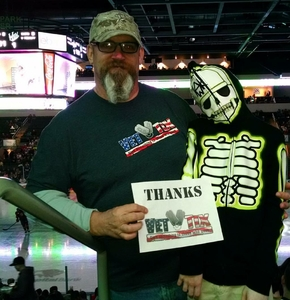 Christopher attended Texas Stars vs. Rockford Icehogs - Game Two - Western Conference Finals - AHL on May 20th 2018 via VetTix