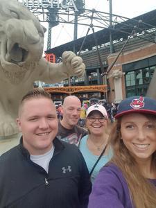 Michael attended Detroit Tigers vs. Cleveland Indians - MLB on Jun 10th 2018 via VetTix