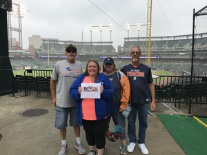 Jeffrey Atwood attended Detroit Tigers vs. Cleveland Indians - MLB on Jun 10th 2018 via VetTix