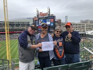 Terry attended Detroit Tigers vs. Cleveland Indians - MLB on Jun 10th 2018 via VetTix