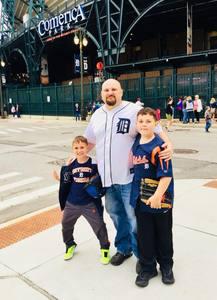 paul attended Detroit Tigers vs. Cleveland Indians - MLB on Jun 10th 2018 via VetTix