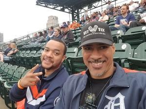 Daniel attended Detroit Tigers vs. Cleveland Indians - MLB on Jun 10th 2018 via VetTix