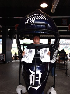charles attended Detroit Tigers vs. Cleveland Indians - MLB on Jun 10th 2018 via VetTix