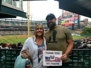 Robert attended Detroit Tigers vs. Cleveland Indians - MLB on Jun 10th 2018 via VetTix