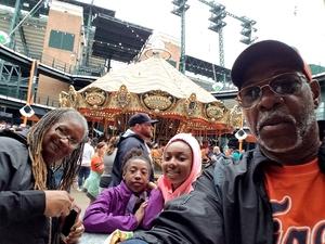 Leonard attended Detroit Tigers vs. Cleveland Indians - MLB on Jun 10th 2018 via VetTix