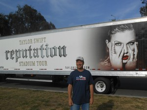 alan attended Taylor Swift Reputation Stadium Tour on May 18th 2018 via VetTix