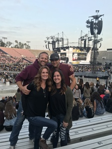 Esteban attended Taylor Swift Reputation Stadium Tour on May 18th 2018 via VetTix