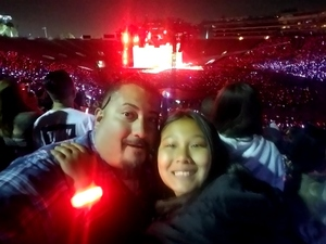 Miguel attended Taylor Swift Reputation Stadium Tour on May 18th 2018 via VetTix