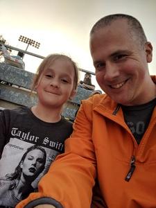 Justin attended Taylor Swift Reputation Stadium Tour on May 18th 2018 via VetTix
