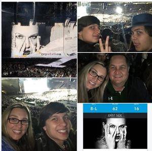michael attended Taylor Swift Reputation Stadium Tour on May 18th 2018 via VetTix