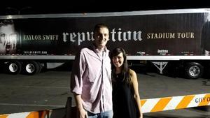 Joshua attended Taylor Swift Reputation Stadium Tour on May 18th 2018 via VetTix