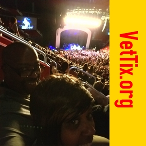 Paul attended Daryl Hall & John Oates and Train on May 20th 2018 via VetTix