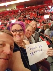 Joseph attended Daryl Hall & John Oates and Train on May 20th 2018 via VetTix