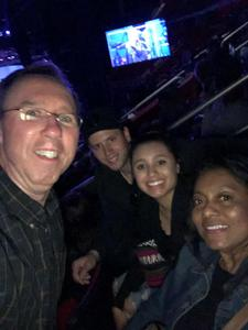 James attended Daryl Hall & John Oates and Train on May 20th 2018 via VetTix