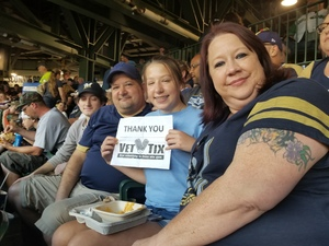 Tim attended Milwaukee Brewers vs. Philadelphia Phillies - MLB on Jun 15th 2018 via VetTix