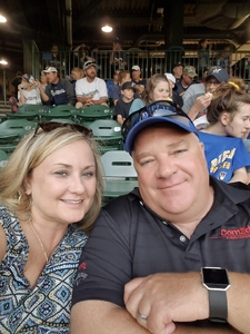 Todd attended Milwaukee Brewers vs. Philadelphia Phillies - MLB on Jun 15th 2018 via VetTix