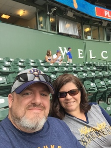Donald attended Milwaukee Brewers vs. Philadelphia Phillies - MLB on Jun 15th 2018 via VetTix