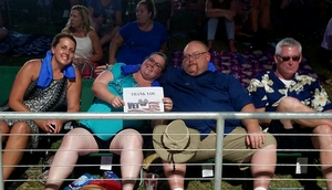 Christina attended Poison With Special Guests Cheap Trick and Pop Evil - Lawn Seats on Jun 2nd 2018 via VetTix