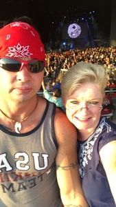 TINA Kaye attended Poison With Special Guests Cheap Trick and Pop Evil - Lawn Seats on Jun 2nd 2018 via VetTix