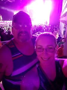 George attended Poison With Special Guests Cheap Trick and Pop Evil - Lawn Seats on Jun 2nd 2018 via VetTix