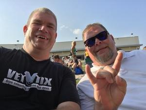 Brian attended Poison With Special Guests Cheap Trick and Pop Evil - Lawn Seats on Jun 2nd 2018 via VetTix