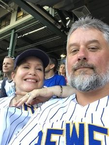 Todd attended Milwaukee Brewers vs. Atlanta Braves - MLB on Jul 5th 2018 via VetTix