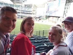 JASON attended Milwaukee Brewers vs. Atlanta Braves - MLB on Jul 5th 2018 via VetTix
