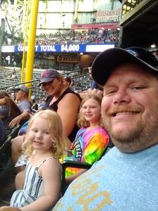 jeffrey attended Milwaukee Brewers vs. Atlanta Braves - MLB on Jul 5th 2018 via VetTix