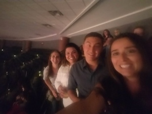 Adriana attended Luis Miguel Live at the Pepsi Center on May 20th 2018 via VetTix