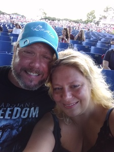Christopher attended Outlaw Music Festival on May 25th 2020 via VetTix
