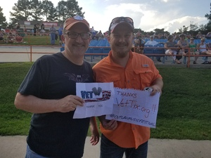 Zachary attended Outlaw Music Festival on May 25th 2020 via VetTix