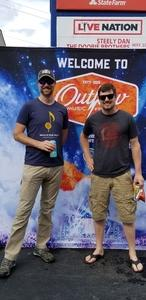 Patrick attended Outlaw Music Festival on May 25th 2020 via VetTix