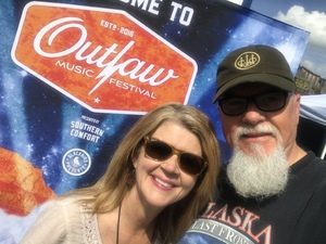 James attended Outlaw Music Festival on Jun 20th 2018 via VetTix