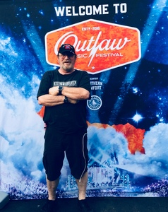 CHARLES attended Outlaw Music Festival on May 26th 2018 via VetTix