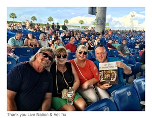 Kevin attended STYX / Joan Jett & the Blackhearts With Special Guests Tesla on Jun 17th 2018 via VetTix