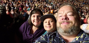 Jeffrey attended Sugarland on May 31st 2018 via VetTix