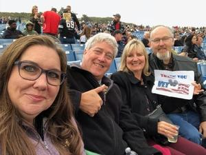 Gregory attended Lynyrd Skynyrd - Last of the Street Survivors Farewell Tour on May 26th 2018 via VetTix