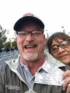 Thomas attended Lynyrd Skynyrd - Last of the Street Survivors Farewell Tour on May 26th 2018 via VetTix