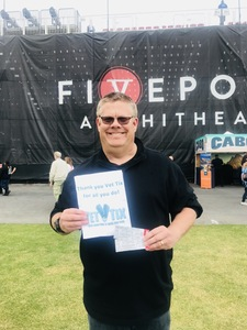 Mike attended STYX and Joan Jett & the Blackhearts With Special Guests Tesla on May 30th 2018 via VetTix