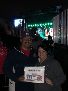 George attended STYX and Joan Jett & the Blackhearts With Special Guests Tesla on May 30th 2018 via VetTix