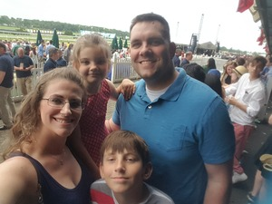 William attended The 150th Belmont Stakes on Jun 9th 2018 via VetTix