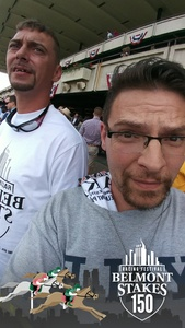 Carmine attended The 150th Belmont Stakes on Jun 9th 2018 via VetTix